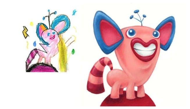 Children drew their monsters